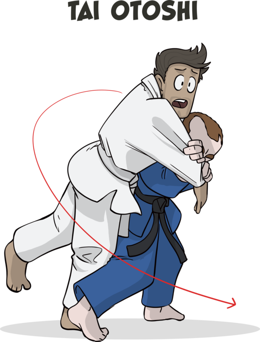 The Basic Judo Throws | Blitz (Illustrated) - Blitz Blog